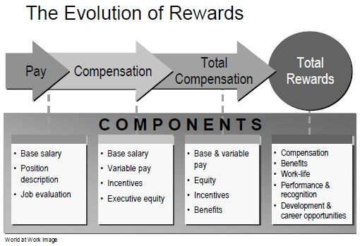 The evolution of Rewards